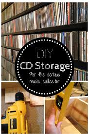 Media Storage Shelves by Extended Shelf Life Diy Cd Storage For The Serious Music