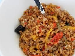 cuisiner le petit eautre petit épeautre et poivrons recette ptitchef