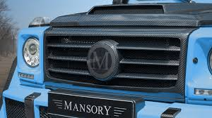 4x4 mercedes mansory introduces one mercedes g500 4x4