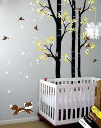autocollant chambre bébé stickers chambre bebe mixte gacant chambre de bacbac stickers