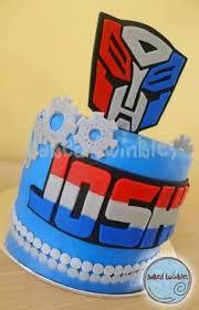 transformer cake transformers prime edible party cake topper image sheet mr