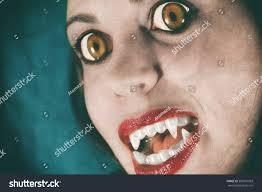 vampire evil vampire face stock photo 385510993
