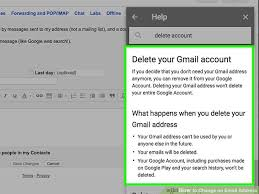 Change Of Address Announcement Letter How To Change An Email Address With Pictures Wikihow