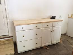 grass stains and i ve got blisters to show for it he added birch ply countertops for me which kind of gives us the look of butcherblock