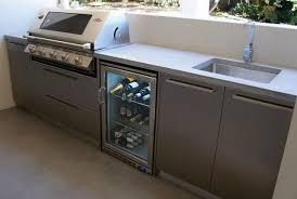 Outdoor Kitchen Stainless Steel Cabinet Doors Remarkable Outdoor Kitchen Stainless Steel Cabinets Within Doors