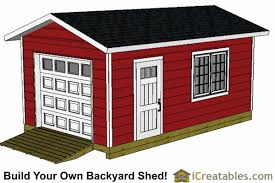 Overhead Doors For Sheds 12x20 Shed Plans Easy To Build Storage Shed Plans Designs