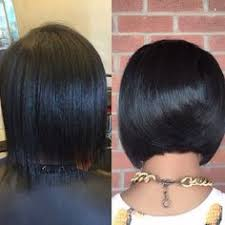 love this cut quick weave hairstyles for black women quick