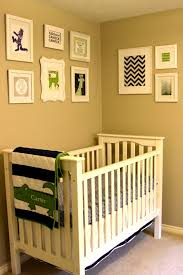 live and learn navy green and gray nursery tour