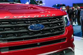 Ford Explorer Grill Guard - 2016 ford explorer adds platinum trim and new engine for l a debut
