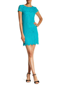 laundry by shelli segal laundry by shelli segal sleeve lace shift dress