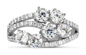 Unique Wedding Rings For Women by Unique 2 Carat Round Diamond Ring For Women Jeenjewels