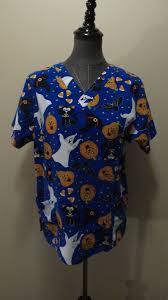 halloween scrubs tops scrubs uniforms work clothing men