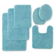 Ombre Bath Rug Creative Of Aqua Bathroom Rugs Suzie Tremel Medallion Aqua Ombre