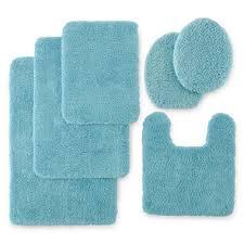 Memory Foam Toilet Rug Creative Of Aqua Bathroom Rugs Suzie Tremel Medallion Aqua Ombre