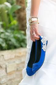 Wedding Shoes Blue Wedding Flats Cobalt Blue Bridal Ballet Flats Wedding Shoes