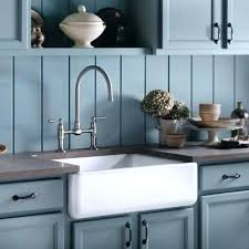 Kitchen Faucet Placement Farmhouse Sink Faucet Kitchen Sink White Stainless Steel