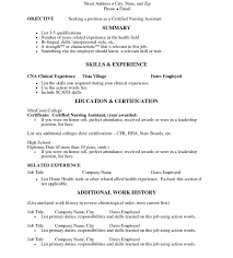 sle resume for nursing assistant job impressive homelth aide resume sle templates for certified free