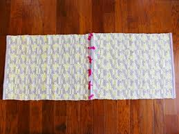 How To Make A Rug Out Of Fabric Diy Area Rug From Fabric Best 25 Drop Cloth Rug Ideas On