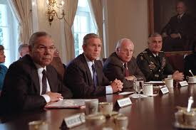 Cabinet White House September 11 2001 The George W Bush Presidential Library And