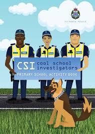 victoria police kids u0027 activity booklet