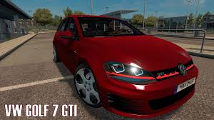 volkswagen golf truck volkswagen golf mk6 for ats american truck simulator mods ats mods