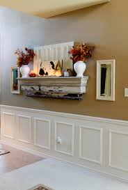 Fireplace Mantel Shelf Designs by Fake Mantel For Homes Without A Fireplace Fun Fall Decorations