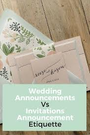 best 20 wedding announcement etiquette ideas on pinterest