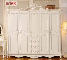 six door wardrobe antique white european whole wardrobe french