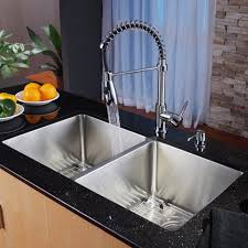 kitchen sinks faucets kitchen faucets undermount sinks striking concrete countertop