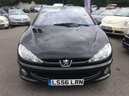 used 2006 peugeot 206 cc 1 6 16v allure tiptronic 2dr for sale in