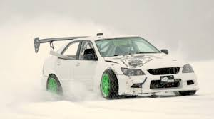 lexus is horsepower 500 horsepower rally car drifts across ice lake youtube