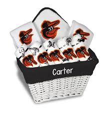 personalized basket personalized baltimore orioles large gift basket mlb baby gift