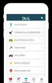 takl on demand home services