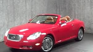 mcgrath lexus westmont used cars 2002 lexus sc430 hardtop convertible for sale