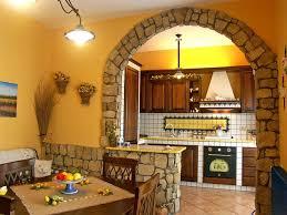 arco in pietra per interni cucine in muratura rustiche e moderne foto design mag