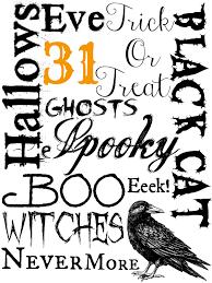 halloween posters free printables image mag