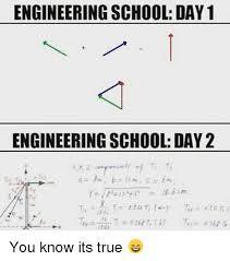 Engineering School Meme - engineering school day 1 engineering school day 2 1562m you know