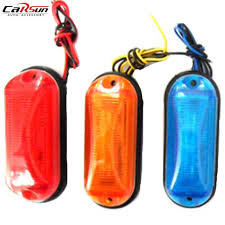 aliexpress buy 12v 24v car led light multicolor side marker