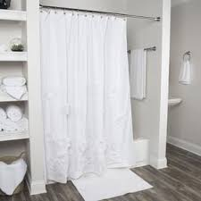 white shower curtains for less overstock com vibrant fabric