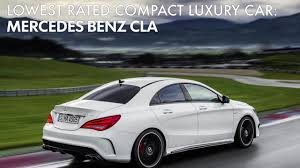 car mercedes 2016 consumer reports u0027 picks the 10 worst new cars by category