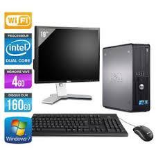 ordinateur de bureau en wifi ordinateur de bureau occasion avec wifi prix pas cher cdiscount
