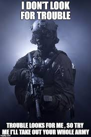 Special Forces Meme - special forces soldier black camo night vision goggles memes imgflip