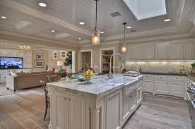 Wood Tile Kitchen Grey Wash Kitchen Cabinets Kenangorgun Com