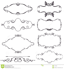 vector decorative design elements royalty free stock image image