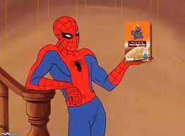 Meme Generator Spiderman - uncle ben s rice spiderman blank template imgflip