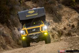 overland camper 2016 nissan titan xd overland camping rig by hellwig superfly autos