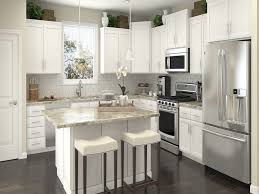 l shaped kitchens designs long white counter with pink led and