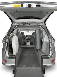 lexus panel van toyota sienna rear entry wheelchair van drive master mobility