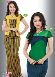 myanmar traditional dress hello madam catalogue myanmar silk