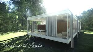 farnsworth house vr unity 4 realistic real time architectural